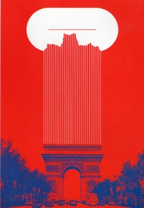Arc de Triomphe Book Paris Ado Sato 1977